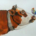 Vache oiseau