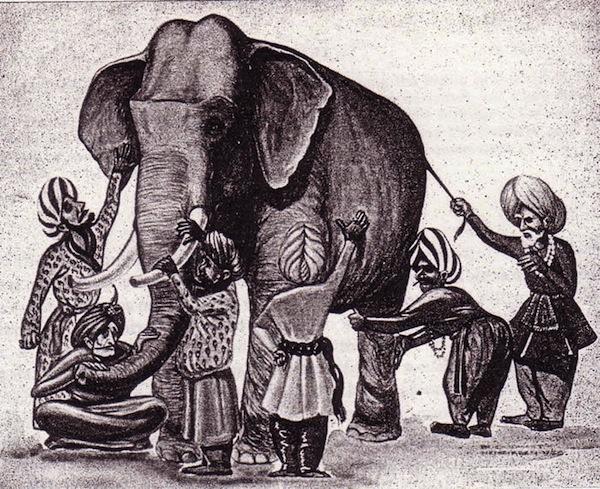 elephant aveugles